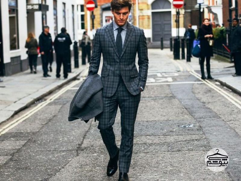 اصول ست کردن لباس های طرح دار مردانه