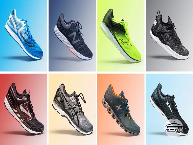 بهترین برندهای کفش مخصوص دویدن و پیادهروی