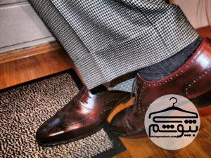 نکات ست کردن رنگ کت و شلوار با کفش برای مردان خوش پوش