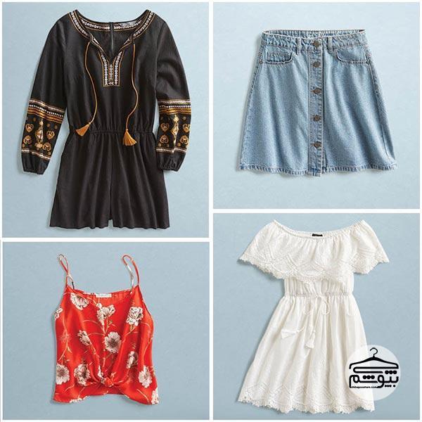 انتخاب لباسهای استایل بوهو