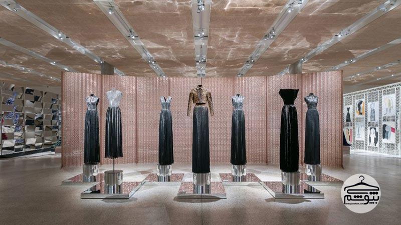 موزه لباس های طراحی شده عزالدین علیه