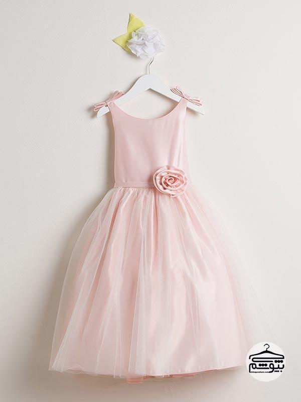 مدل لباس عروس بچه گانه پرنسسی و در رنگ های متنوع و زیبا