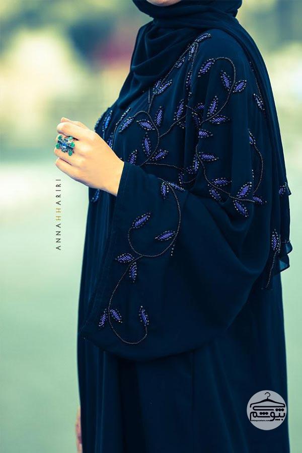 مدل مانتو مجلسی شیک سنگ دوزی
