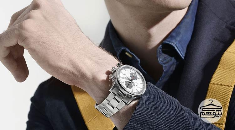 ست کردن ساعت مچی مردانه با لباس های تابستانی
