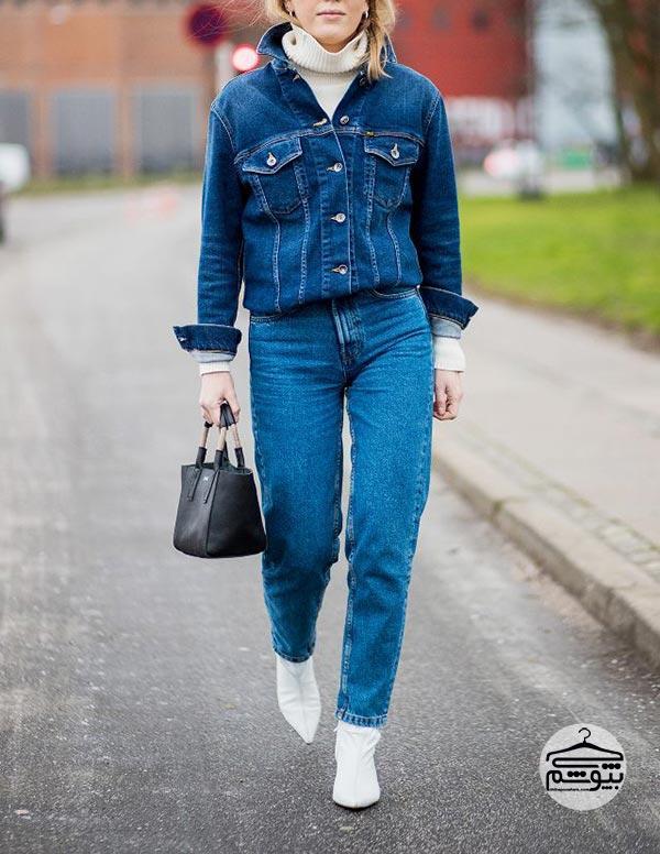 مام جینز ؛ نحوه انتخاب و خرید و ست کردن این مدل شلوار جین زنانه