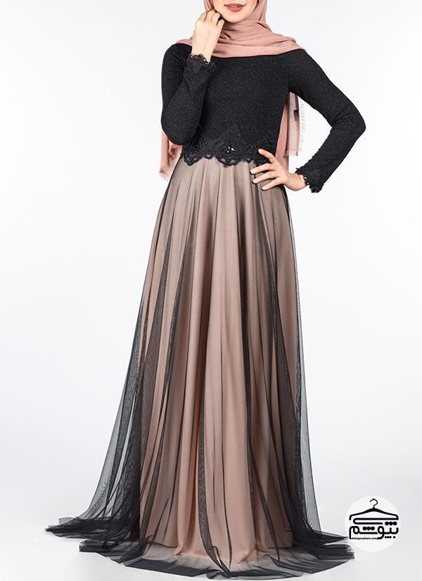 لباس مجلسی پوشیده کلاسیک