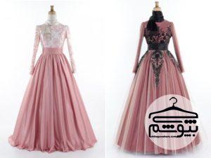 جدیدترین مدل لباس مجلسی پوشیده با طرحهای زیبا و متفاوت
