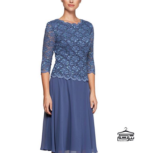 لباس مادر عروس ؛ زیباترین و جدیدترین مدل لباس مجلسی کوتاه و بلند