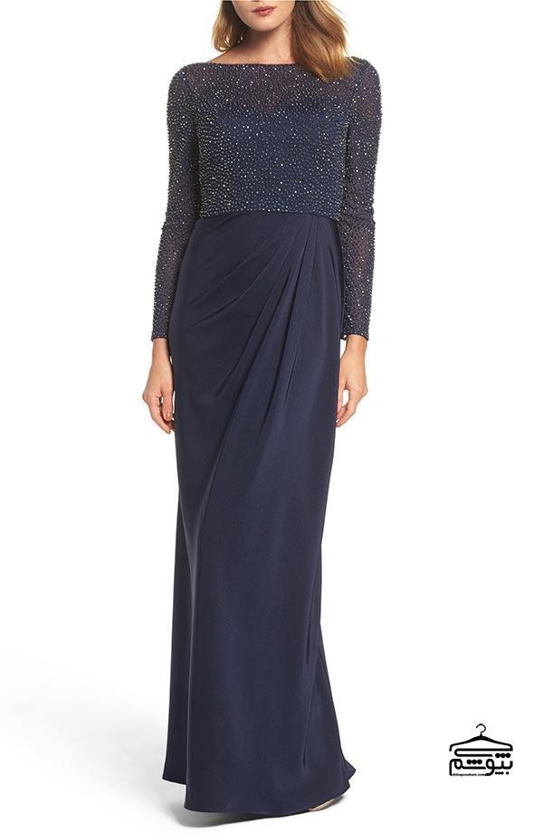پیراهن یا دامن با قد بلند برای مادر عروس