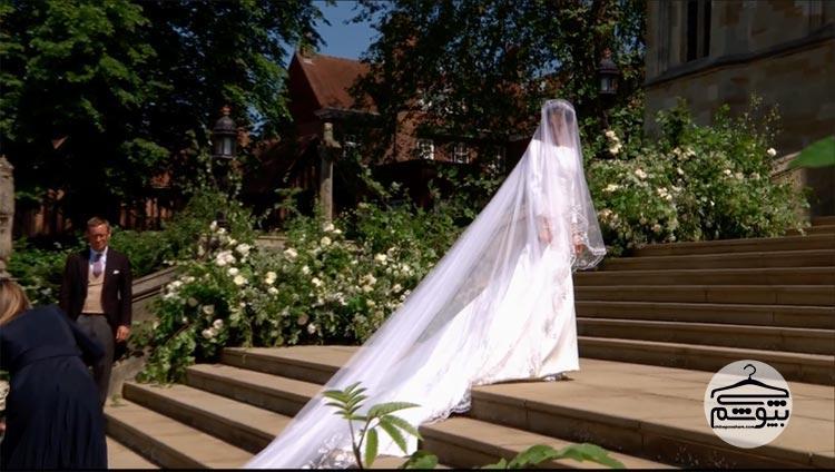 لباس عروس مگان مارکل