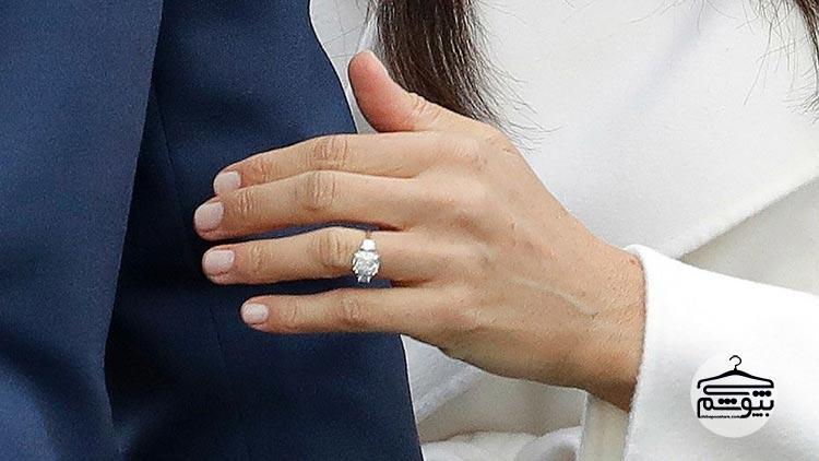 حلقه ازدواج مگان مارکل