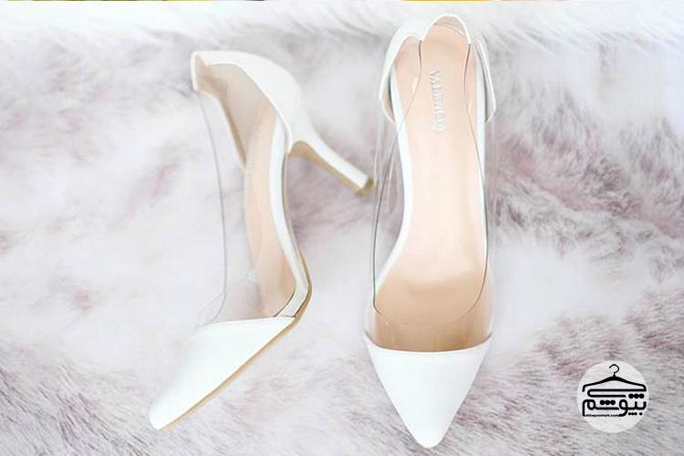 مدل کفش عروس طلقی