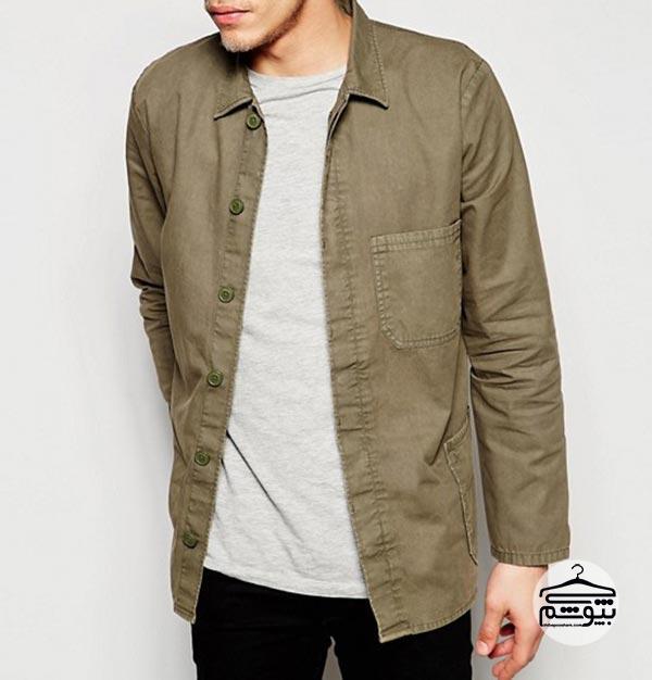 پیراهن مردانه مدل overshirt