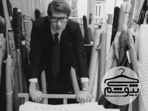 ایو سن لورن طراح پرآوازه مد فرانسوی