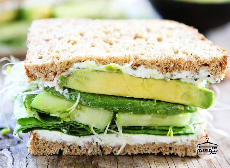 Sandwich on whole-grain bread