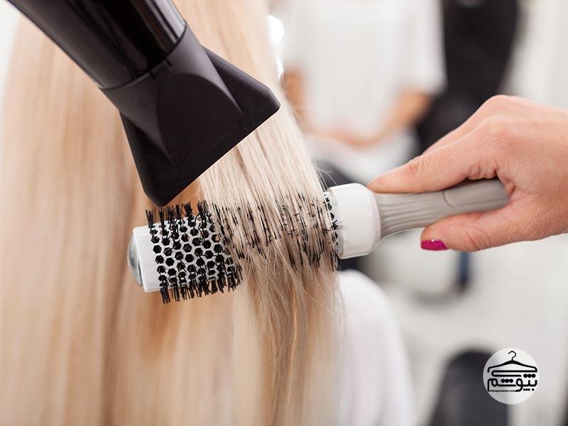 روش صحیح حالت دادن و خشک کردن مو با سشوار