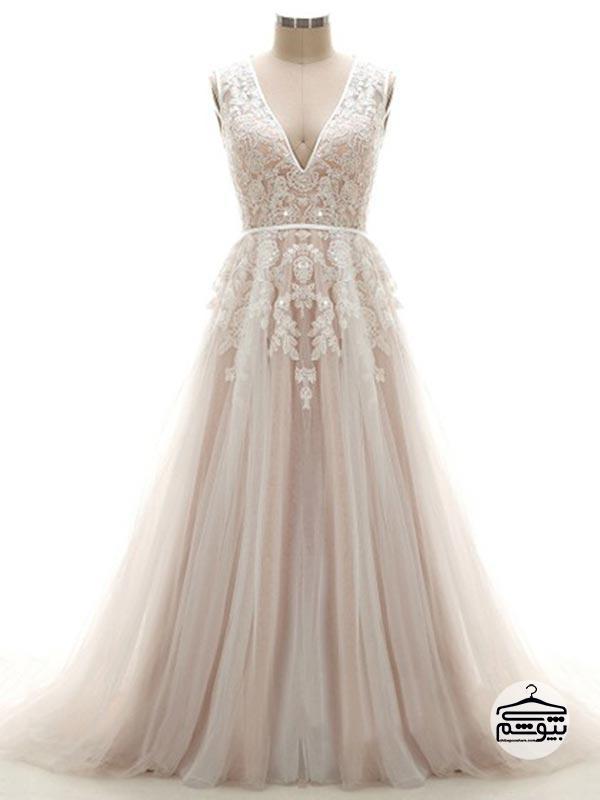 لباس عروس 2019 متالیک