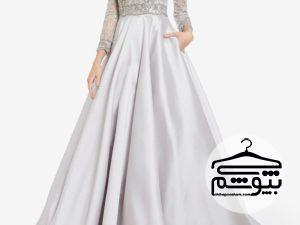 جدیدترین و شیکترین مدلهای لباس عروس به رنگ نقرهای