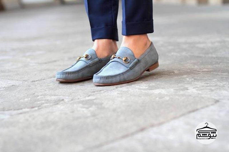 مدلهای مختلف کفش لوفر گوچی و راه کارهای ست کردن این کفش مردانه