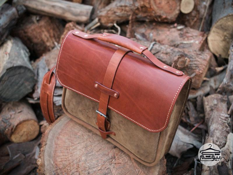 کیف دستی چرم مردانه بادوام ؛ نکاتی برای خرید و انتخاب این مدل کیف مردانه