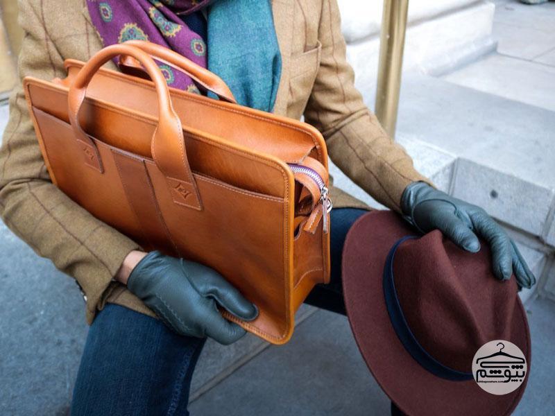 نکاتی برای خرید کیف دستی چرم مردانه بادوام