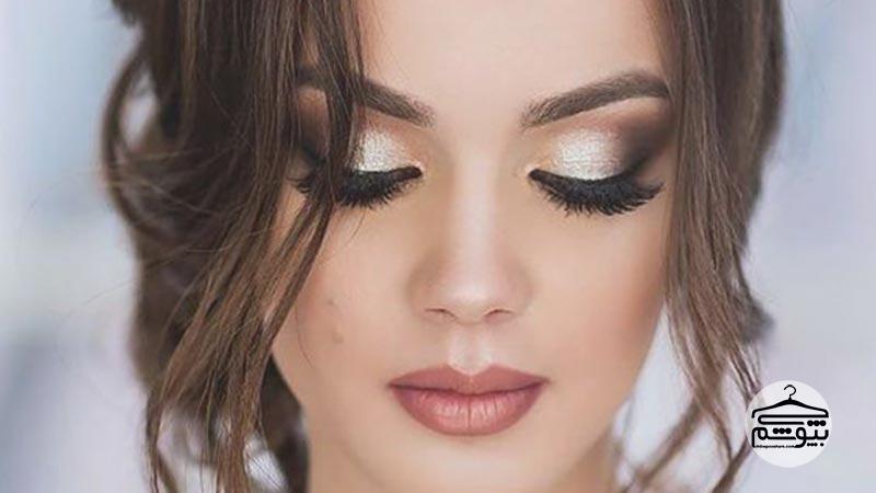 آرایش چشم عروس اسموکی