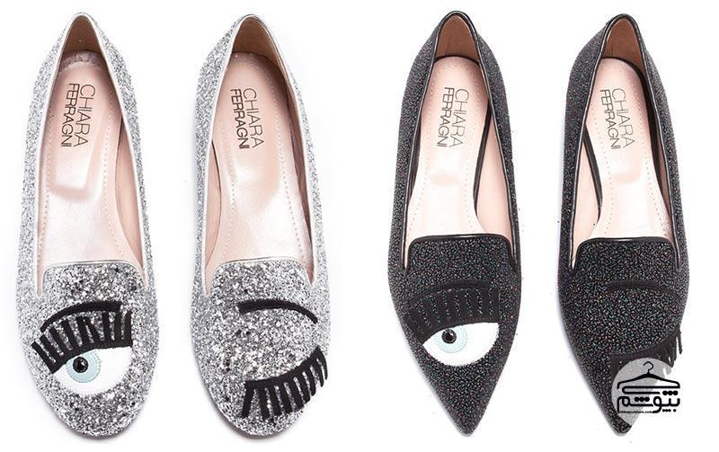 کفشهای طراحی شده توسط کیارا فراگنی