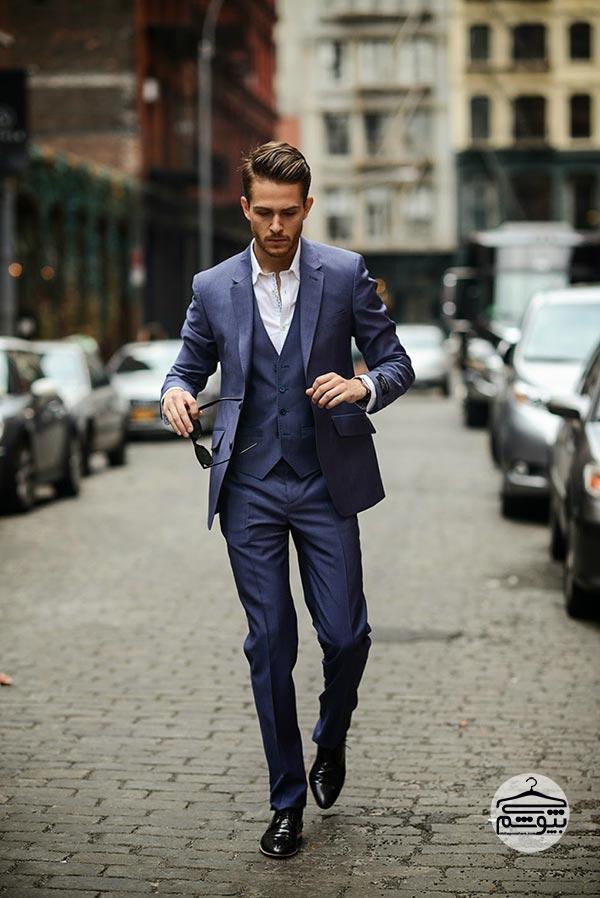 خرید کت و شلوار مردانه از خیابان ولیعصر
