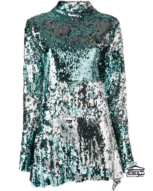 مدل لباس مجلسی 2019 با بقیه قلبی شکل