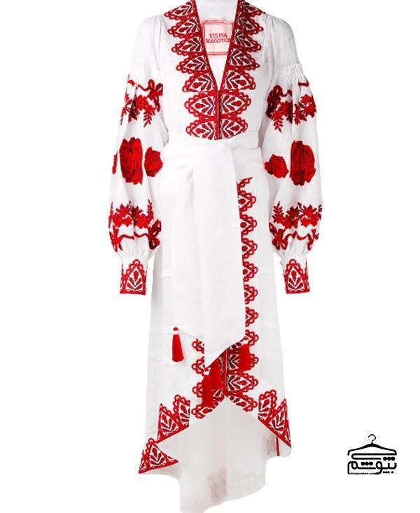 مدل لباس مجلسی ۲۰۱۹ طرح سنتی