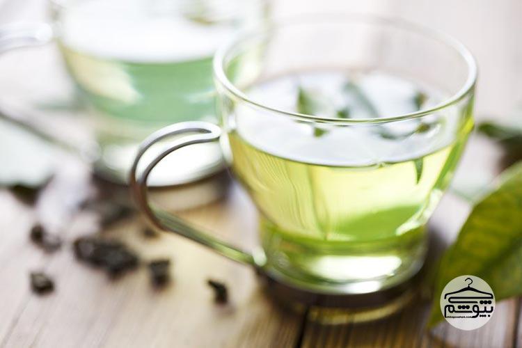 دتاکس واتر چای سبز