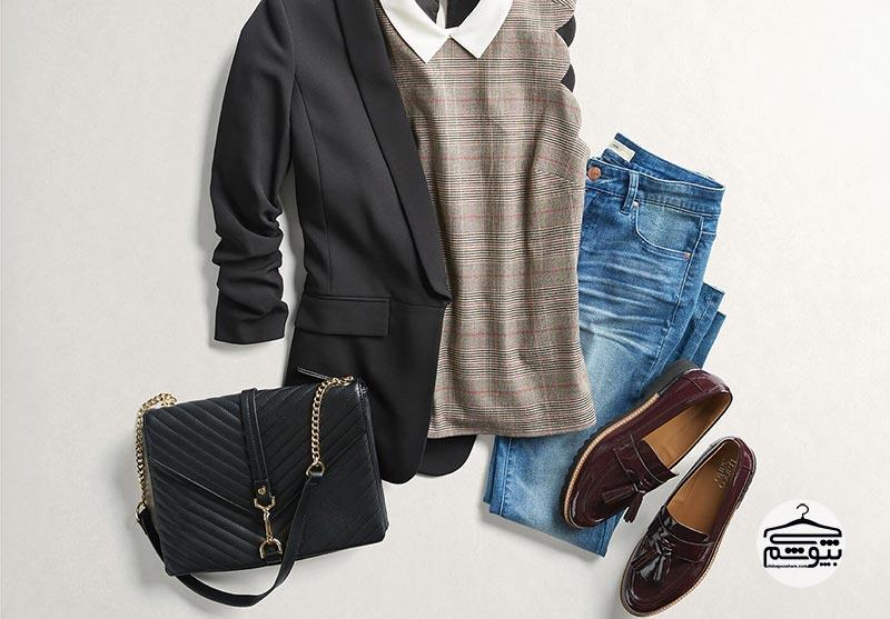 شلوار جین بپوشید