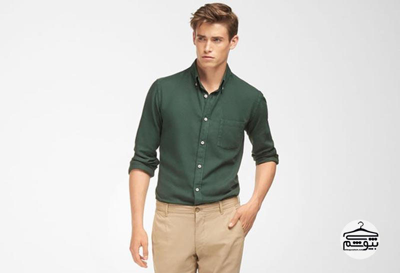 پیراهن آکسفورد مردانه