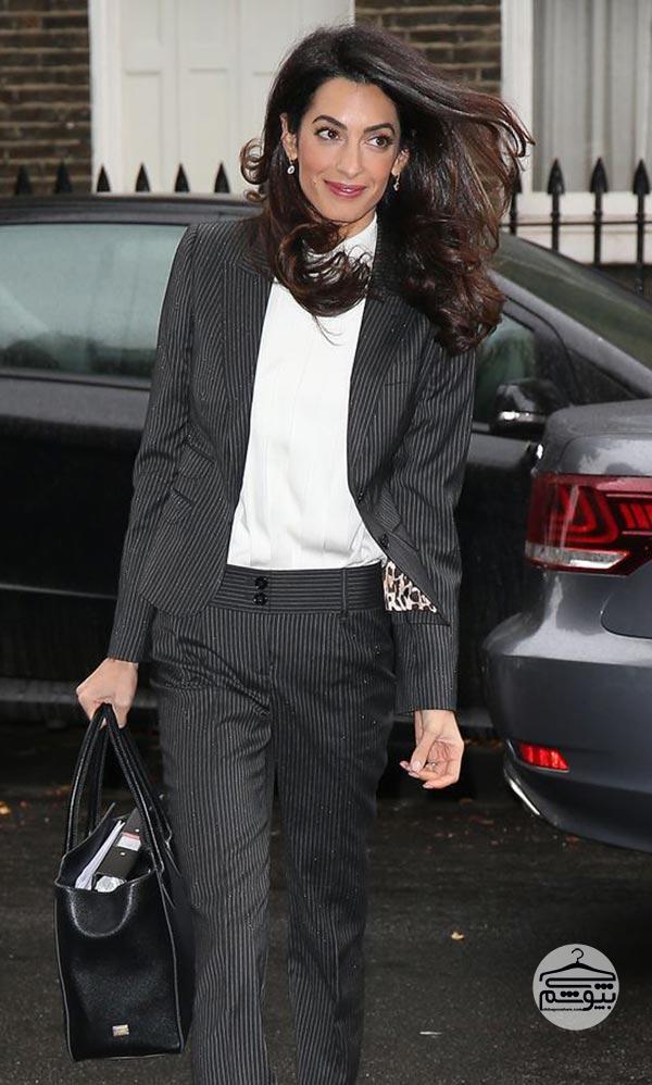 کت و شلوار رسمی بپوشید