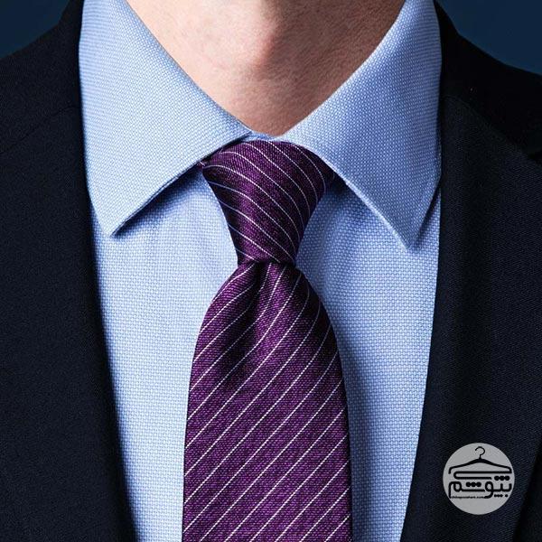 بستن کراوات با گره ساده