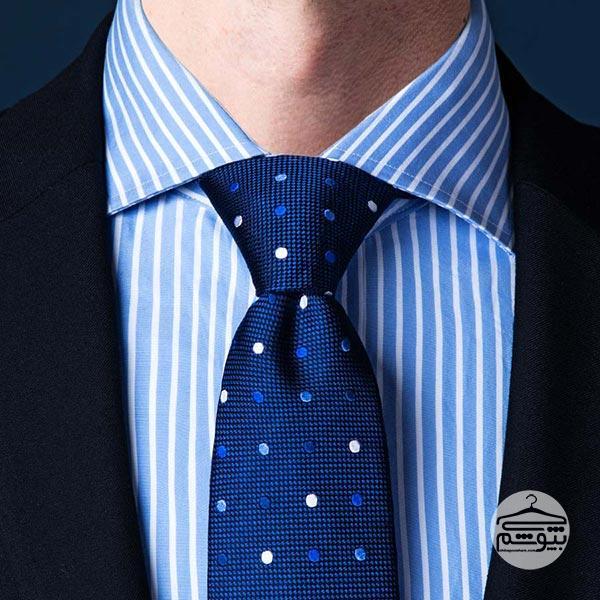 بستن کراوات با گره پرت