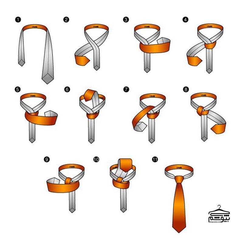 بستن کراوات با گره گرنچستر