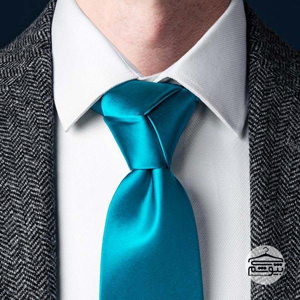 بستن کراوات با گره ترینیتی