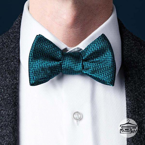 بستن کراوات با گره پاپیونی