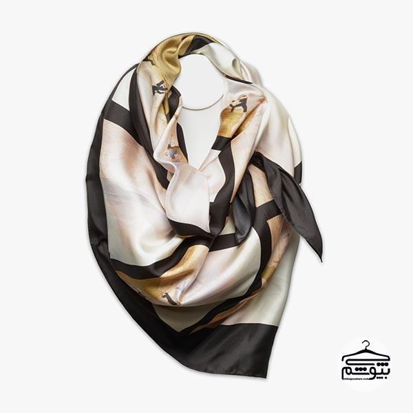 ست کردن مانتو پاییزه با شال و روسری