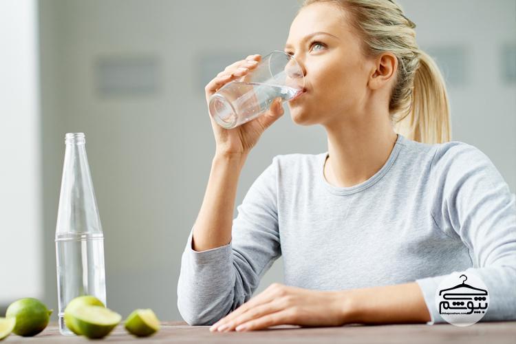 به مقدار فراوان آب بنوشید