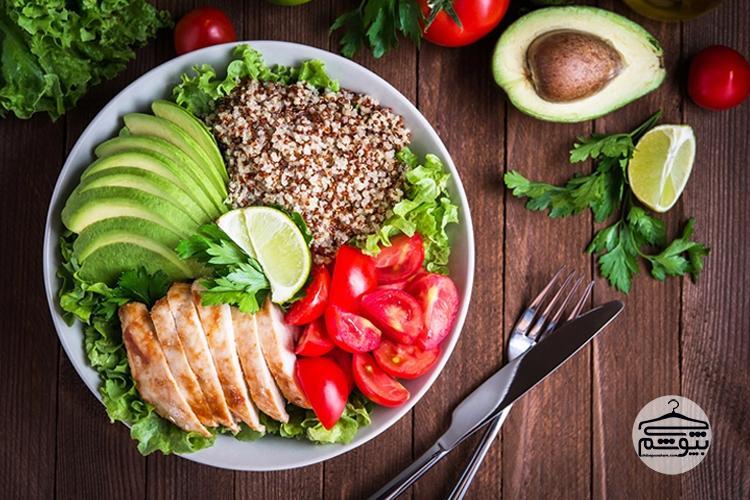 غذای سالم بخورید