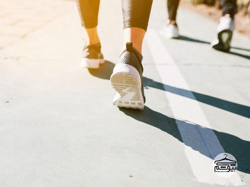 بیشتر راه بروید: