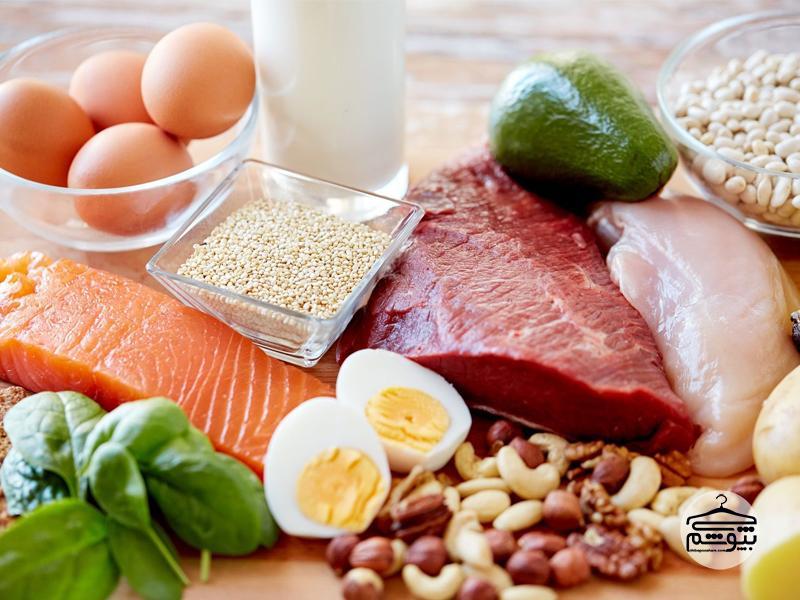 رژیم لاغری یک ماهه پروتئین