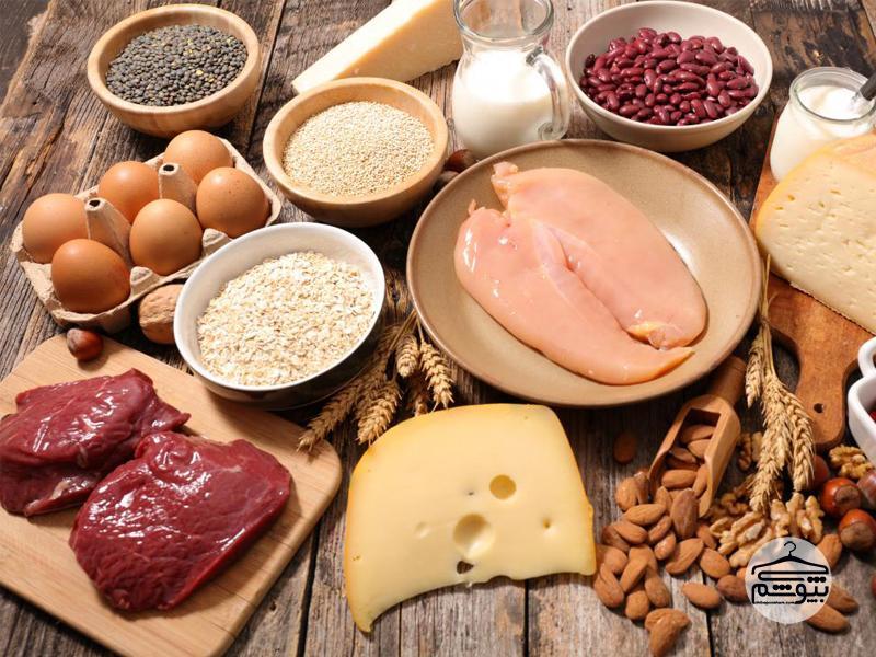 استفاده از پروتئین در رژیم لاغری یک ماهه پروتئین