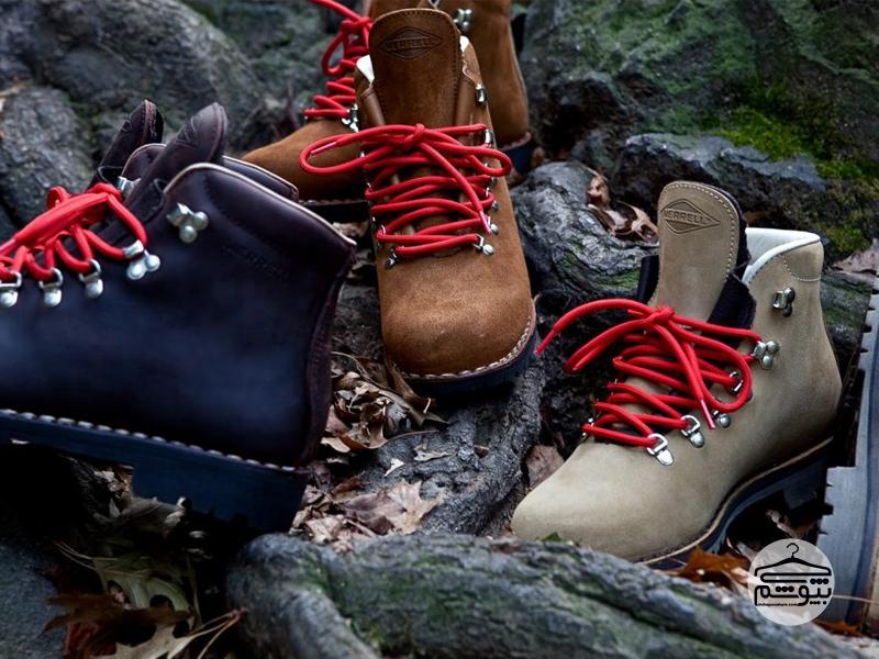برندهای مختلف کفش کوهنوردی
