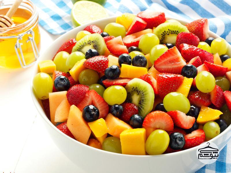 جایگزین کردن میوه به جای تنقلات