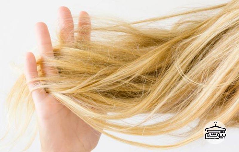 استفاده از نرم کننده و روغن مو برای باز کردن گره موها