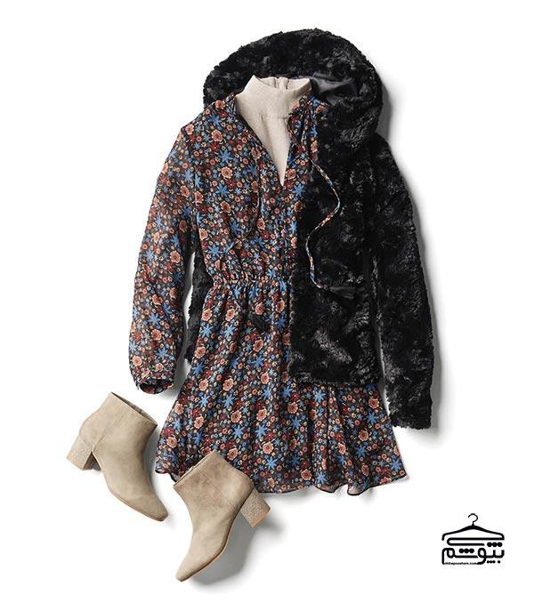 برای لباس پاییزه خود پارچه با طرح مناسب انتخاب کنید