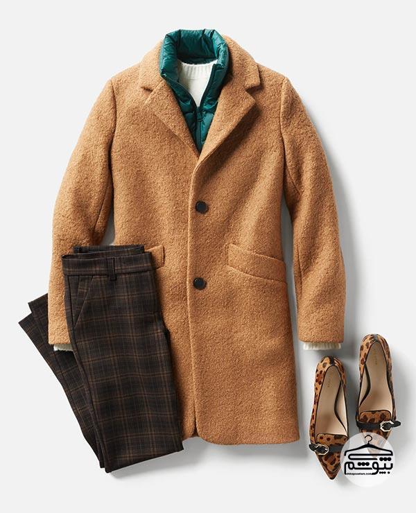 روی لباسهای سبک خود از کتهای پاییزی استفاده کنید